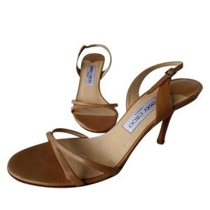 Jimmy chop nude sandals